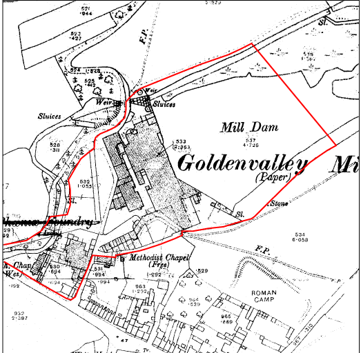 O.S. Map 1912 1:2500