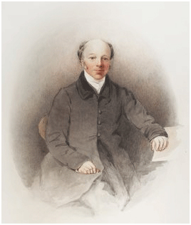 Rev. H T Ellacombe from an illustration:  photo courtesy Bath In Time/ Bath Central Library