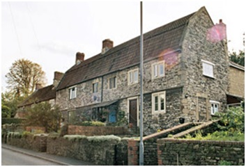 The Poorhouse as it appears now in the High Street Bitton