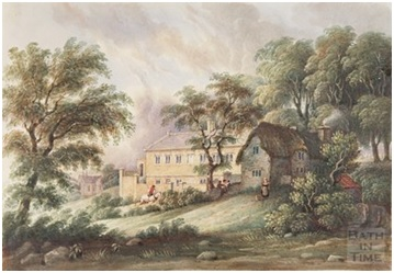 Oldland school and Schoolhouse, 1837 Photo courtesy Bath In Time/Bath Central Library