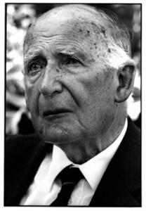 Sir Bernard Lovell in 2000