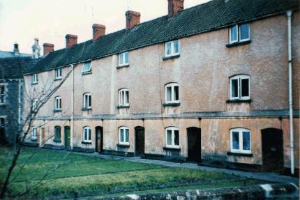 Mill Rank, Bitton, 1950s: photo courtesy Reg Pullin