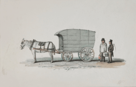 F Freemont van, 1857, an Illustration; courtesy Bath In Time/Bath Central Library