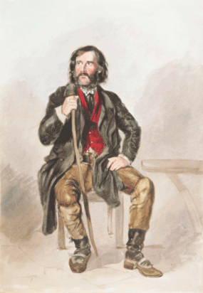 John Wilton, illustration by M Holnes, 1845; courtesy Bath In Time/Bath Central Library