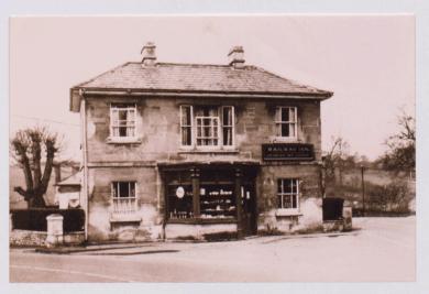 Railway Inn off license, Brockham Hill, Willsbridge, 1937; photo courtesy BRO