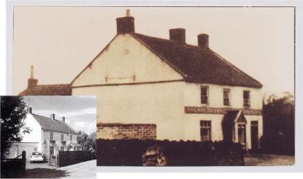 The Raiway Tavern, North Common in the 1930s; photo courtesy Bristol Records Office - The George Elliot Collection