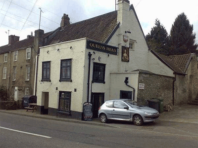 The Queens Head, Willsbridge, before closing in 2011; photo courtesy Paul Townsend