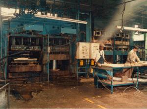 1985  Ford Escort door panel moulding.