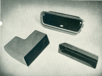 The first automotive products were glove boxes and storage bins