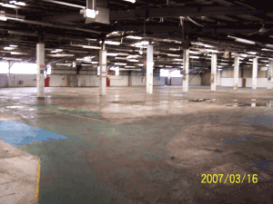 This area once housed the door panel production lines for Ford Escort, Montego, Rover Sterling, Ford Sierra, Saab, Jaguar and Astra facia panels.