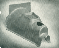 Gear box cover for the Triumph Herald.  Again first produced at Reading and later at Bitton.